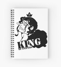 King of Snipers Spiral Notebook