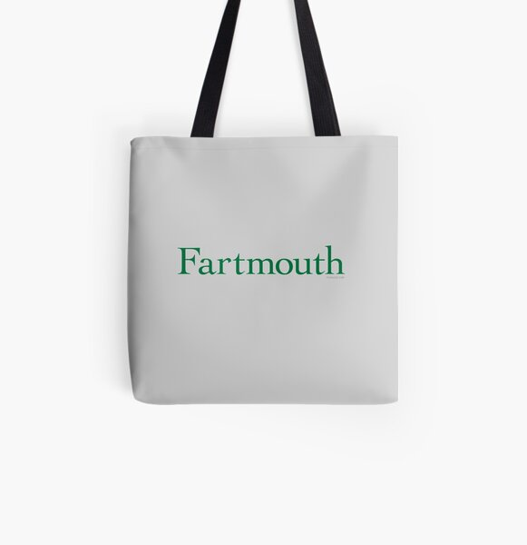 Fartmouth University All Over Print Tote Bag
