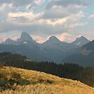 The Other Side of the Tetons by Daniel Owens