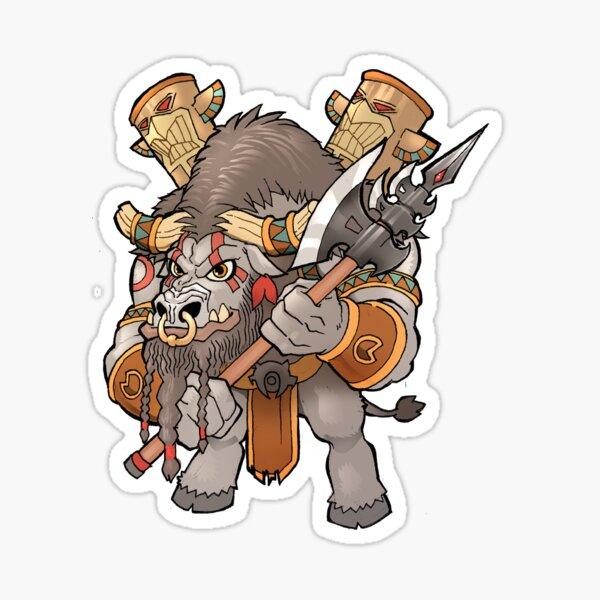 Tauren Chieftain Sticker