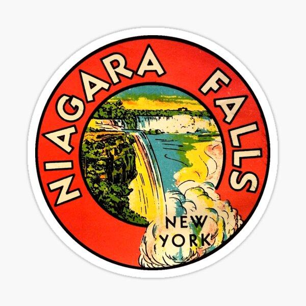 Niagara Falls New York Vintage  Sticker
