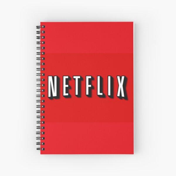 Netflix Spiral Notebook