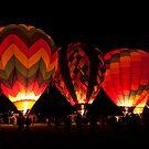 Dawn Patrol Reno Balloon Races  by Justin Baer
