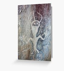 Petroglyph at Dinosaur National Monument Greeting Card