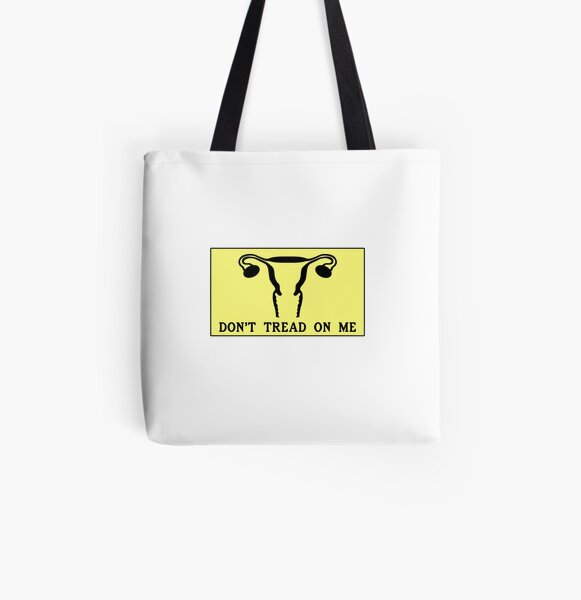 Don't Tread On Me All Over Print Tote Bag