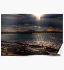 sunset forster Poster