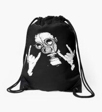 Devil Horns (White Version) Drawstring Bag