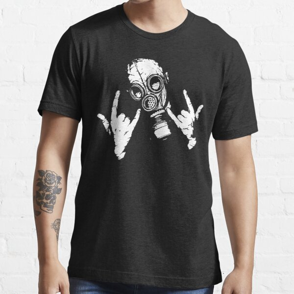 Cuernos del diablo (versión blanca) Camiseta esencial