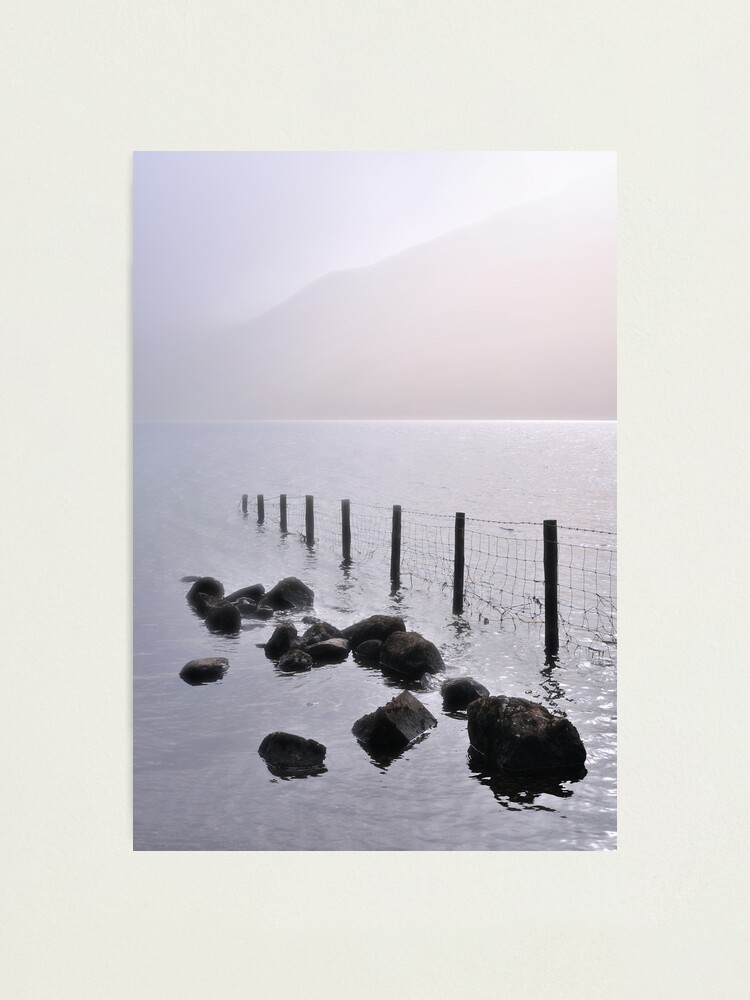 Alternate view of Misty morning, Wastwater Photographic Print
