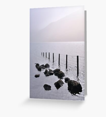Misty morning, Wastwater Greeting Card