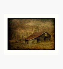 Slightly Out of Kilter Art Print