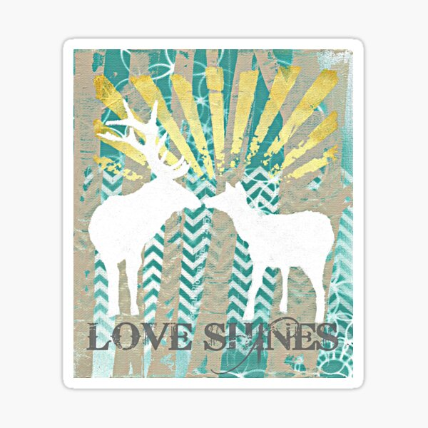 Love Shines Sticker