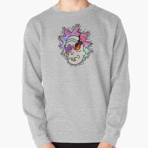 Chaos Rick Design Pullover Sweatshirt