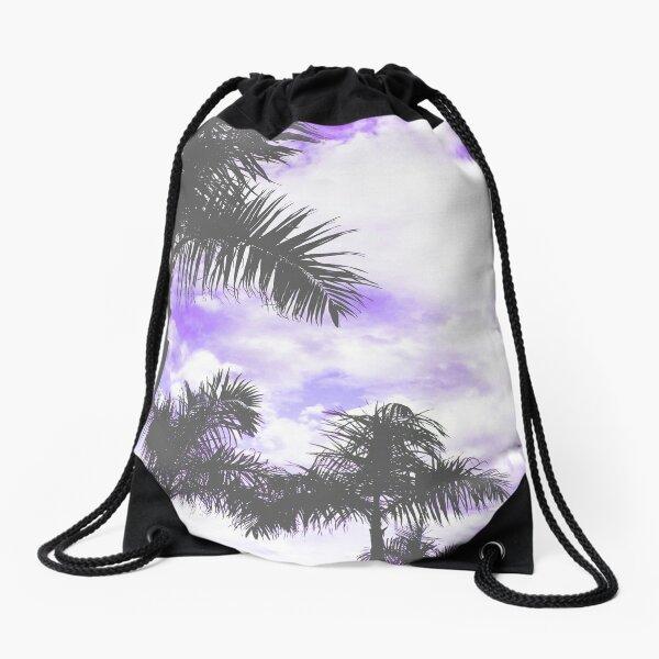 An Irie Summer Day in LA (Purple Haze) Drawstring Bag