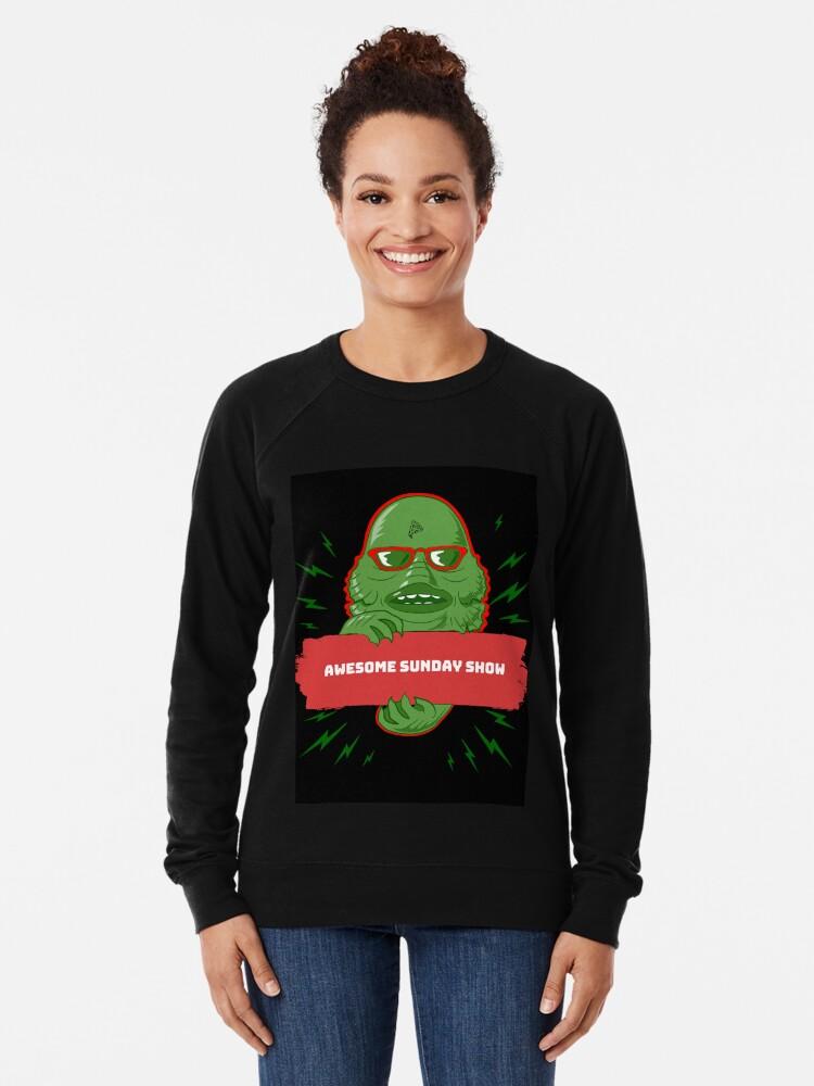 Alternate view of Swamp Monster Lightweight Sweatshirt