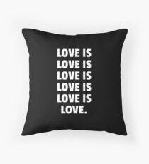 LOVE IS... (2nd-EDIT - DARK EDIT) Floor Pillow