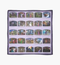 D1G1TAL-M00DZ ~ THE RODRIGANDA ROMANCES ~ Illustrations by tasmanianartist for Karl May Friends 020619 Scarf