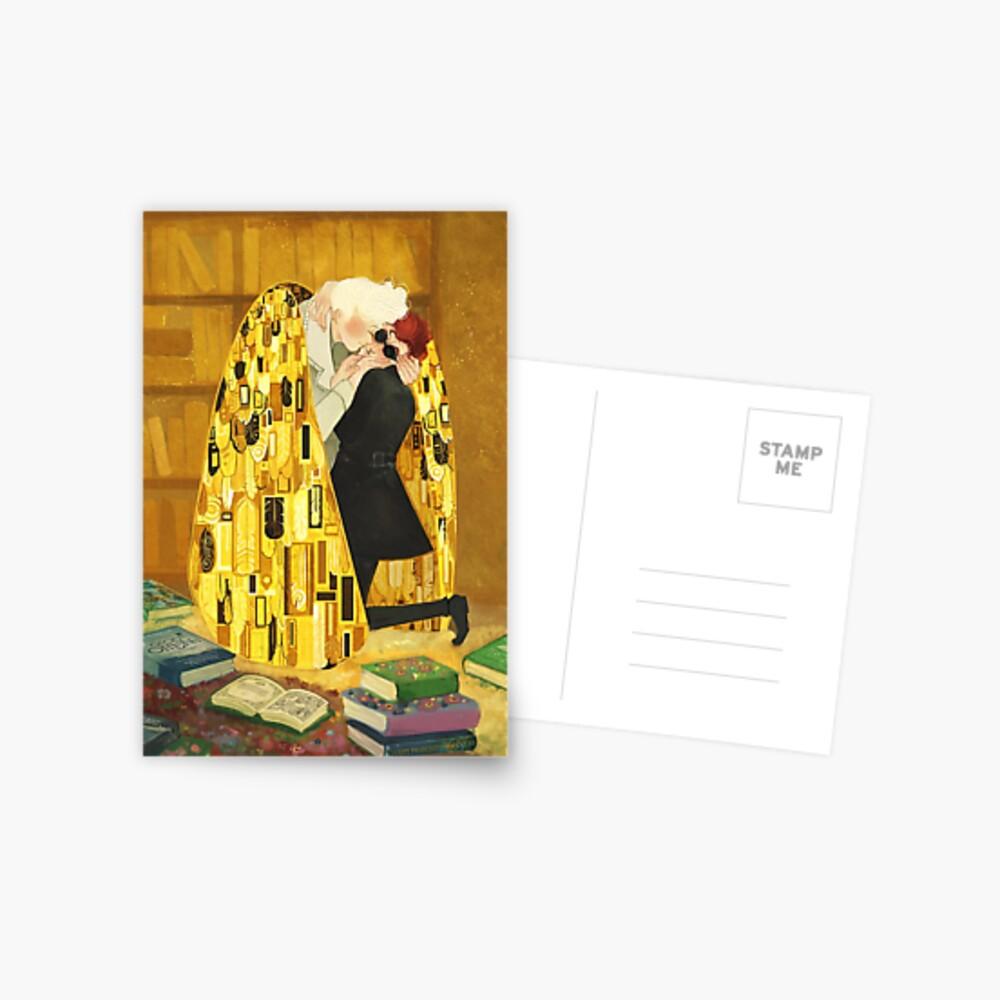 the kiss Postcard