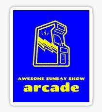 Arcade Glossy Sticker
