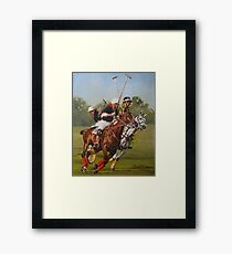 Polo 11 Framed Print