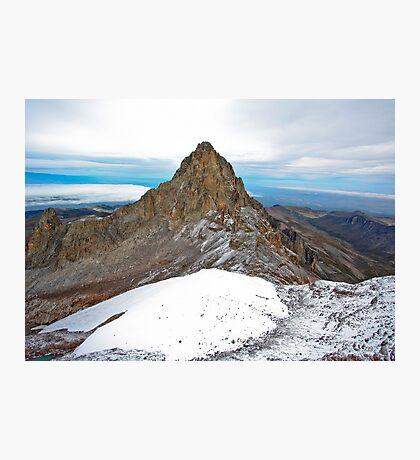 Mount Kenya - Looking North-West towards Nelion Photographic Print