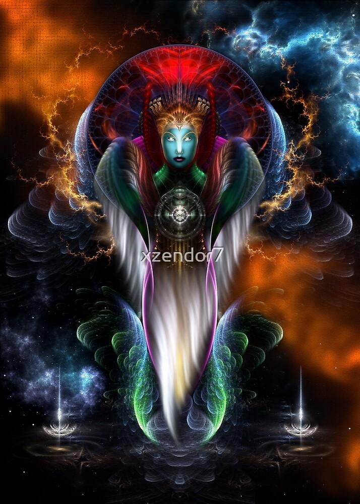Riddian Queen Royal Regalia by xzendor7
