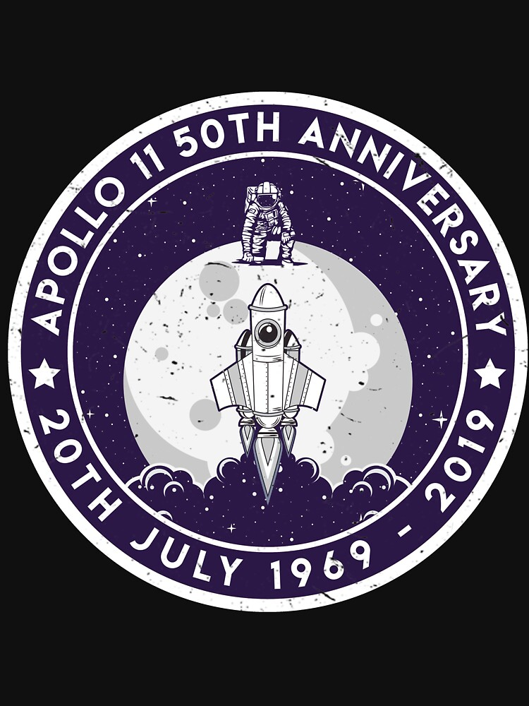 Apollo 11 50th Anniversary Moon Landing 1969 2019 Astronaut von despicav