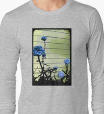 blue carnations Long Sleeve T-Shirt
