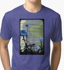 blue carnations Tri-blend T-Shirt