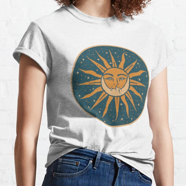 Sun and Moon   Vintage Classic T-Shirt