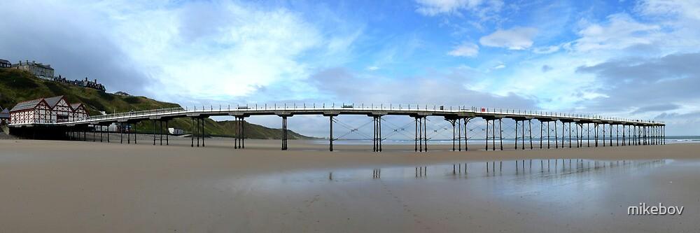 Saltburn Pier by mikebov