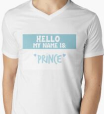 Hello My Name is Prince Blue T-Shirt