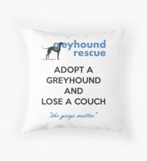 Adopt and Lose a Couch Throw Pillow