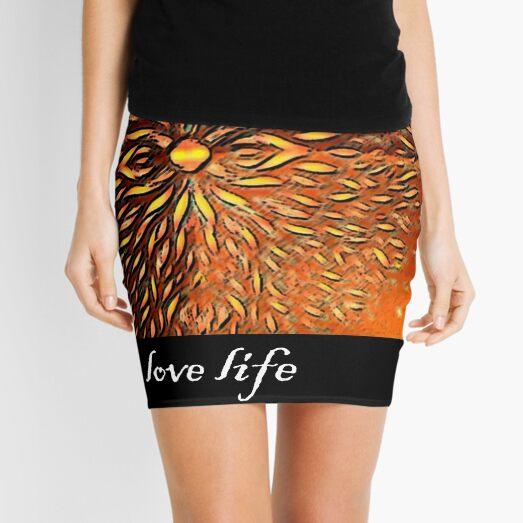 Eternity - the Dance of Light and Dark Mini Skirt