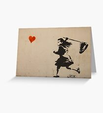 Catching Love Greeting Card