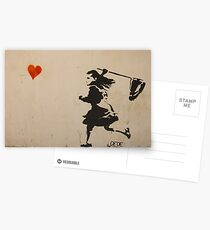 Catching Love Postcards