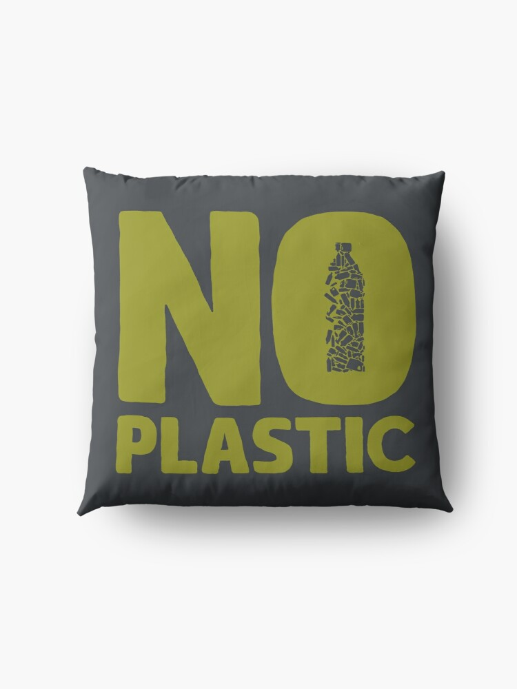 Alternate view of No plastic Floor Pillow