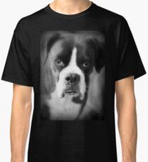 Arwens Porträt - weiblicher Boxer - Boxer-Hunde-Reihe Classic T-Shirt