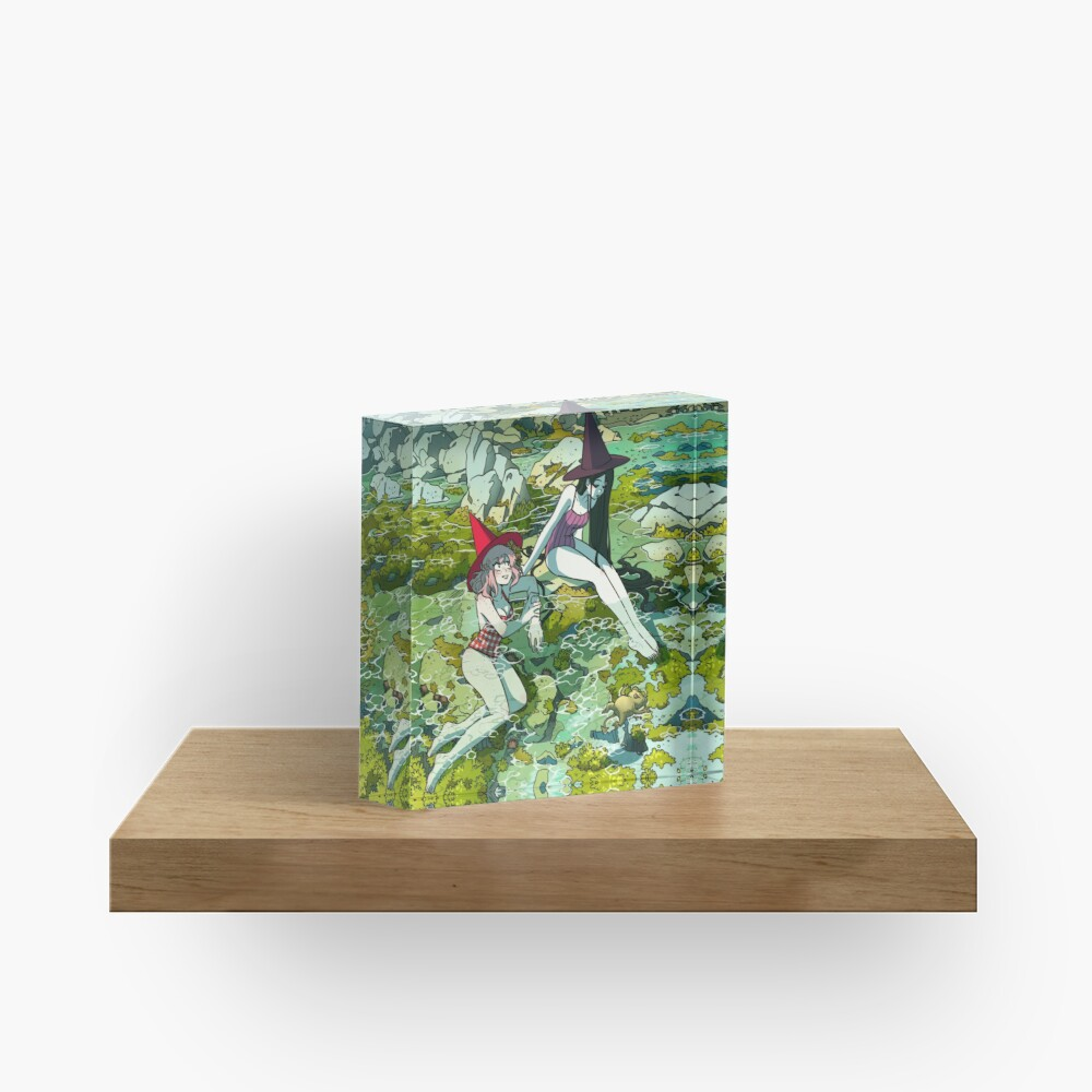 Summer witches Acrylic Block