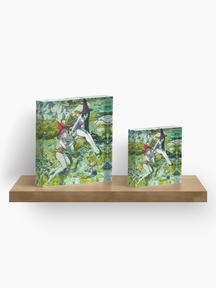 Alternate view of Summer witches Acrylic Block