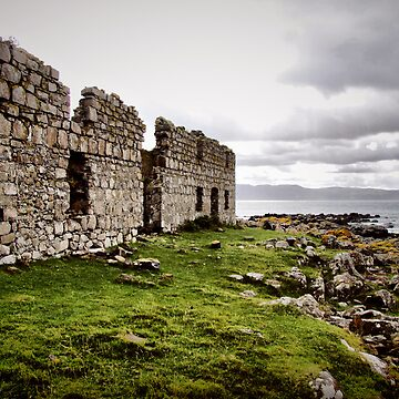 Smugglers Cottages - Rathlin Island by SNAPPYDAVE