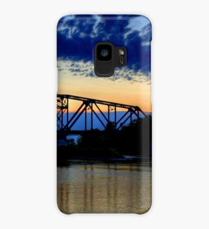 Sunset over the Taylor Bridge Case/Skin for Samsung Galaxy