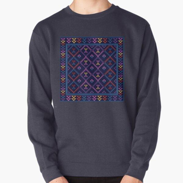 Bohemian Kilim Ethnic Pattern Pullover Sweatshirt