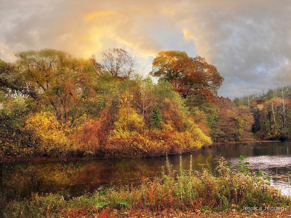 Riverside Reflections by Jessica Jenney