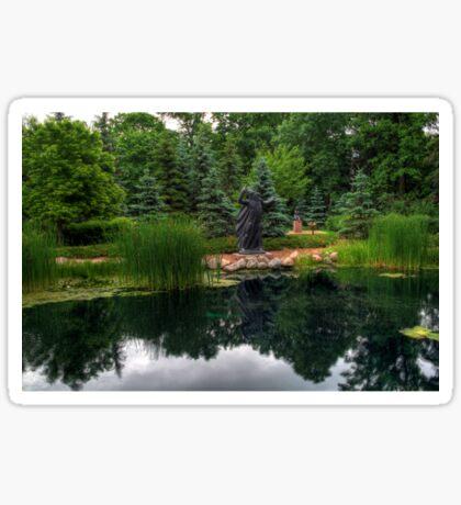 Leo Mol Sculpture Gardens Sticker