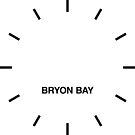 Bryon Bay Time Zone Newsroom Wanduhr von bluehugo