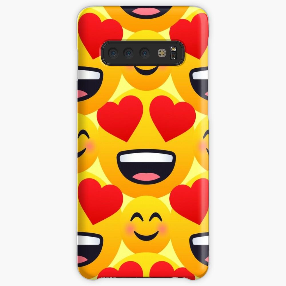 Love emojis pattern Case & Skin for Samsung Galaxy