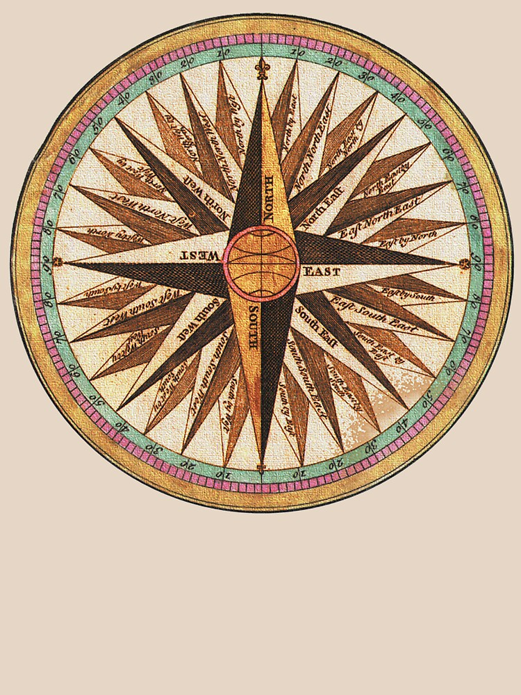 COMPASS ANTIQUE by TOMSREDBUBBLE