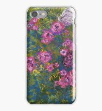 Alighted (mixed media) iPhone Case/Skin