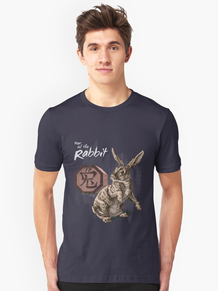 Year of the Rabbit by Stephanie Smith (for dark shirts) by Stephanie Smith